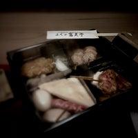 Photo taken at 河豚料理 屋台おでん ふぐの富久亭 by こんどう ま. on 3/1/2013