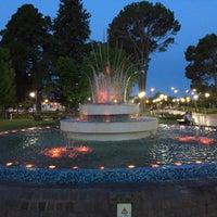 Photo taken at Parque Hipólito Yrigoyen by Angel S. on 11/30/2015