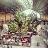 Photo taken at Madrid-Puerta de Atocha Railway Station by Catherine M. on 4/30/2013
