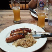 Photo taken at Hofbräuhaus Newport by Steven M. on 6/6/2013