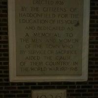 Photo taken at Haddonfield Memorial High School by Kristin T. on 3/9/2013
