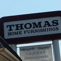 Photo taken at Thomas Home Furnishings by Kristin T. on 8/24/2013