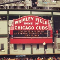 Photo taken at Wrigley Field by Tom P. on 7/19/2013