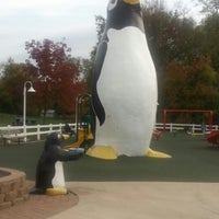 Photo taken at Penguin Park by Daniel D. on 10/11/2012