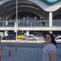 Photo taken at Sabiha Gokcen Airport With Oyku by Funda B. on 8/11/2017