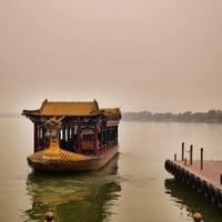 Photo taken at 昆明湖 Kunming Lake by Pavel K. on 10/31/2013