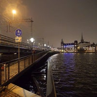 Photo taken at Centralbron by Pavel K. on 12/10/2013