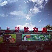Photo taken at Ueno Zoo by kame k. on 6/22/2013