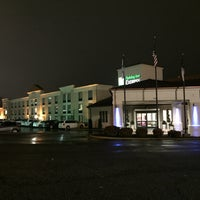 Photo taken at Holiday Inn Express Hickory-Hickory Mart by Daniel B. on 3/4/2015