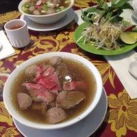 Photo taken at Pho Thái Hòa by dee on 12/6/2013
