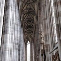 Photo taken at Münster St.Georg Dinkelsbühl by Tim A. on 4/28/2018