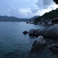 Photo taken at Charmchuree Villa @KOH TAO by Jeff H. on 12/27/2016