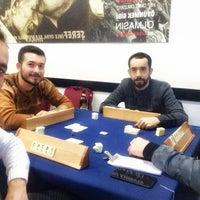 Photo taken at Bergama Beşiktaş'lılar derneği lokali by Hasan A. on 12/16/2017