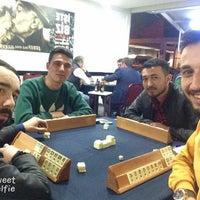 Photo taken at Bergama Beşiktaş'lılar derneği lokali by Hasan A. on 4/3/2018
