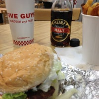 Photo taken at Five Guys by Sparty A. on 11/6/2012