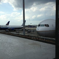 Photo taken at Concourse C by Judson P. on 9/22/2012