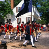 Photo taken at Colonial Williamsburg by Maria A. on 8/3/2013