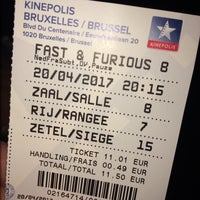 Photo taken at Kinepolis by Paulien H. on 4/20/2017