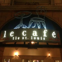 Photo taken at Le Cafe Ile St-Louis by Sean M. on 4/13/2013