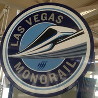 Photo taken at Las Vegas Monorail - MGM Grand Monorail Station by Sean M. on 4/6/2013