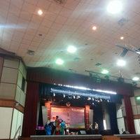 Photo taken at Dewan Tunku Mahkota Ismail (DTMI) , UTHM by Mimi H. on 3/14/2015