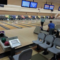 Photo taken at Bowlero Queens by Stephen Aaron D. on 12/5/2012