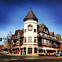Photo taken at Coolidge Corner by Steve C. on 3/31/2013