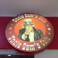 Photo taken at Uncle Sam's cafe by Alexander U. on 12/8/2012
