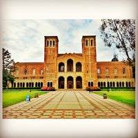Photo taken at UCLA Royce Hall by Pakorn T. on 5/7/2013