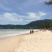 Photo taken at Patong Beach by Karen W. on 5/29/2013
