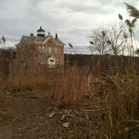 Photo taken at Saugerties Lighthouse by Sonja S. on 11/25/2012