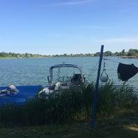 Photo taken at KLI waterski school by Andrea B. on 5/9/2014