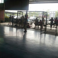 Photo taken at Futsal Centre Tamparuli by Julie T. on 10/10/2015