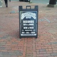 Photo taken at Armageddon Records by Erik S. on 5/2/2014