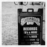 Photo taken at Armageddon Records by Erik S. on 12/22/2012