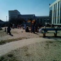 Photo taken at Детская Площадка by Irisha L. on 3/10/2014