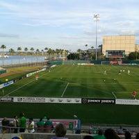 Photo taken at Al Lang Stadium by Robert W. on 4/6/2013