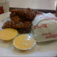 Photo taken at Richeese Factory by Cinthia J. on 10/17/2013