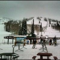 Photo taken at Grand Targhee Resort Alta by Michael H. on 12/13/2012
