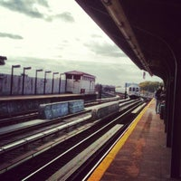 Photo taken at MTA Subway - 111th St/Greenwood Ave (A) by Michael H. on 11/6/2013