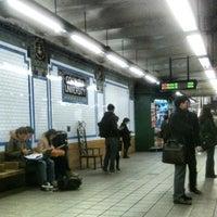 Photo taken at MTA Subway - 116th St/Columbia University (1) by Michael H. on 4/3/2013