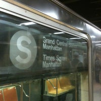 Photo taken at MTA Subway - 42nd St/Grand Central (4/5/6/7/S) by Michael H. on 1/12/2013