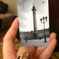 Photo prise au Park Hyatt Paris-Vendôme par Juliet A. le7/25/2013