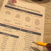 Foto scattata a KazuNori: The Original Hand Roll Bar da charleen il 1/22/2018