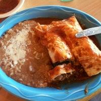 Photo taken at Las Palmas Restaurant - Wade Green Rd. by Danielle L. on 10/25/2012