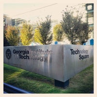 Photo taken at Technology Square by Cristian F. on 10/6/2012