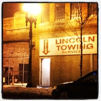 Photo taken at Lincoln Towing Service by Gregory A. on 1/25/2014