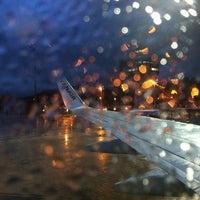 Photo taken at Aeropuerto de Santander - Seve Ballesteros by Javier M. on 2/12/2013