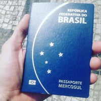 Photo taken at Policia Federal Passaporte by Wesley Ázara, 22y 🍉 G. on 11/9/2015