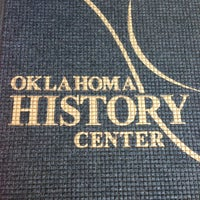 Photo taken at Oklahoma History Center by Dustin J. on 1/5/2013